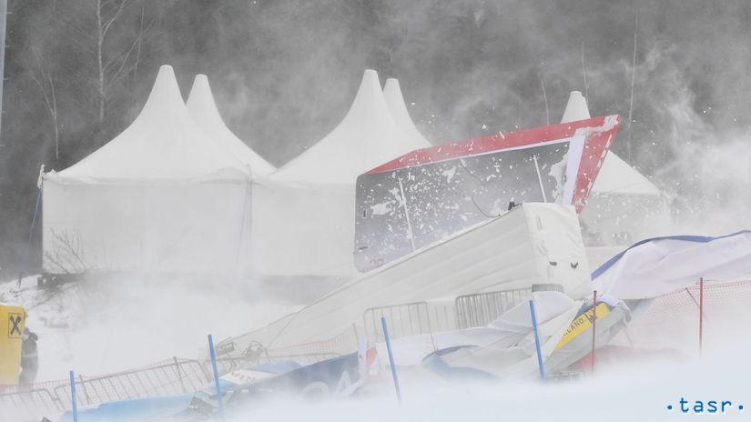 Rakúsko SR Lyžovanie SP obrovský slalom