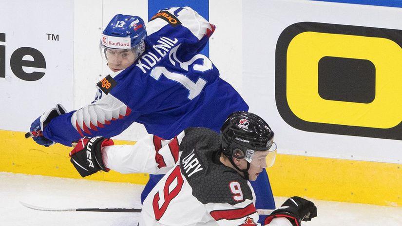 World Juniors Canada Slovakia Hokej Kolenič