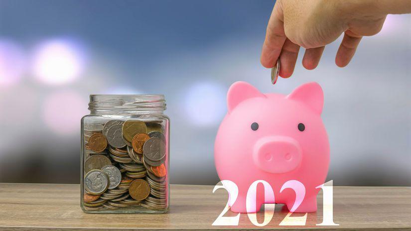 2021, peniaze, úspory, šetrenie, sporenie,...