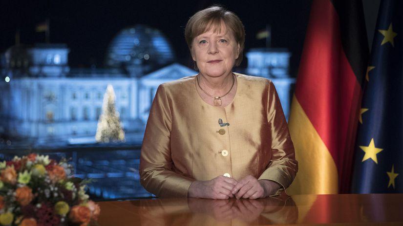 Германия Меркель Новый год