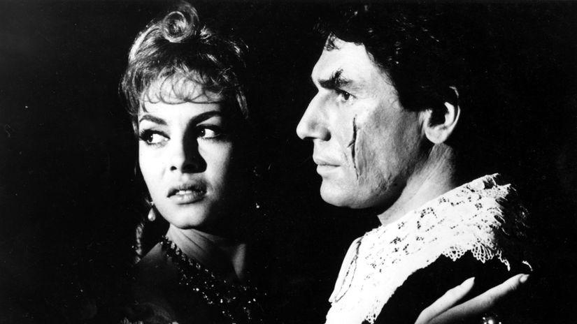Robert Hossein a  Michèle Mercier