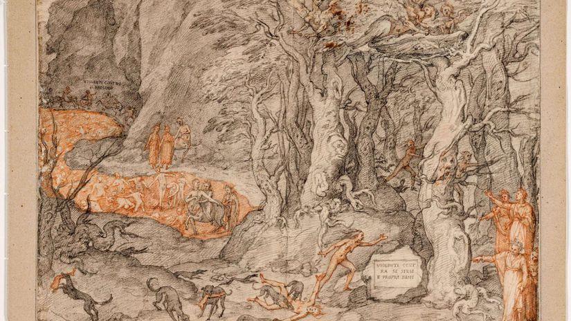 Italy Uffizi Dante Anniversary