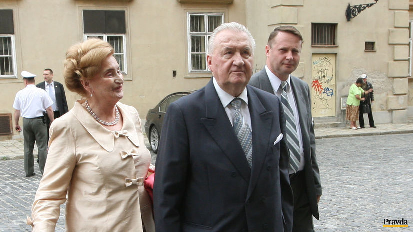 Ivan Gašparovič, inaugurácia, Michal a Emília...