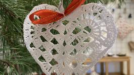 cas vianocny srdce