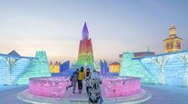Charbin, ľadové sochy