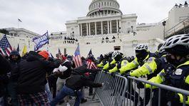 kapitol washington vzbura demonštranti trump protest