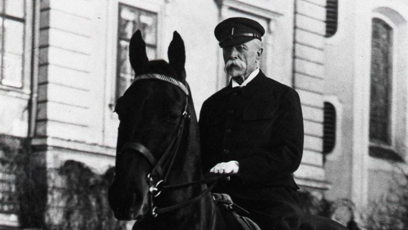 Tomáš Garrigue Masaryk, prezident
