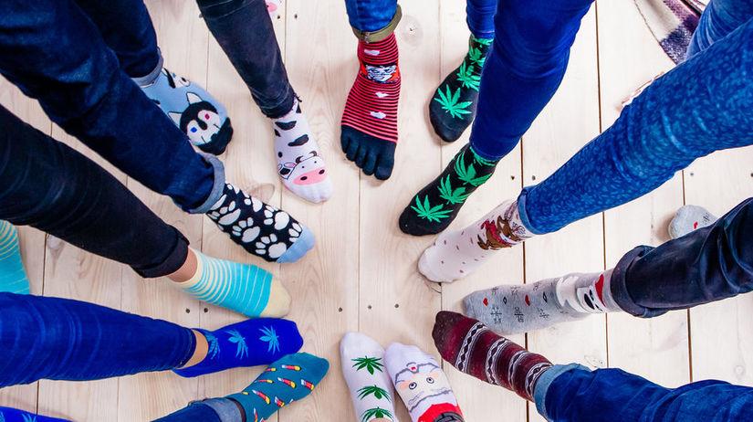 ponožky, chodidlá, nohy