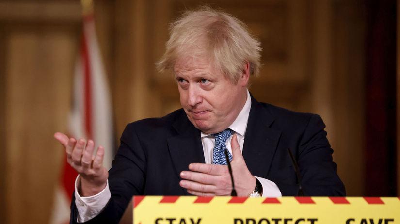 koronavírus, Británia, Boris Johnson
