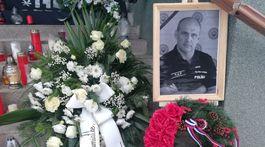 Pohreb generála Milana Lučanského v Štrbe.