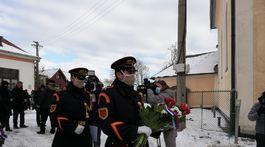 Pohreb generála Milana Lučanského v Štrbe