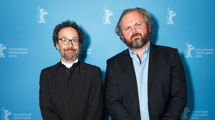 Ivan Ostrochovsky a umelecky riaditel Berlinale...