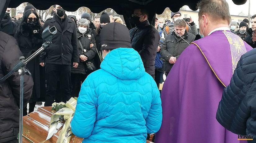 Štrba, pohreb, Milan Lučanský, hrob
