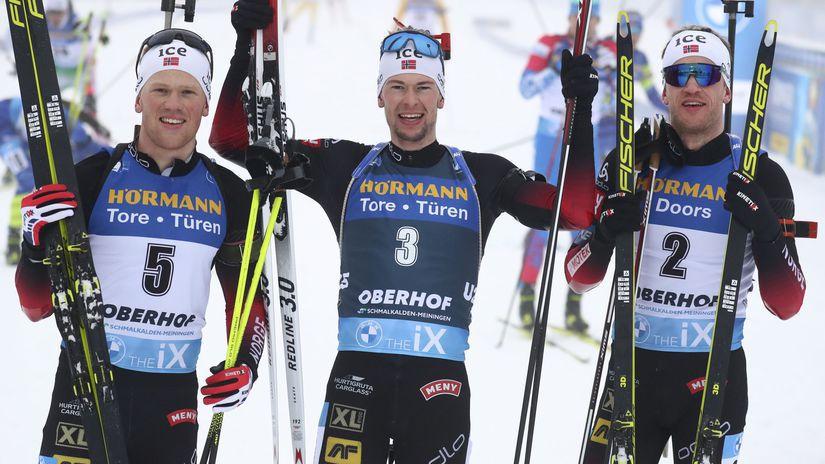 Sturla Holm Laegreid, Johannnes Dale, Tarjei Boe