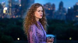 Herečka Nicole Kidman na zábere zo seriálu Mala si to vedieť z produkcie HBO.