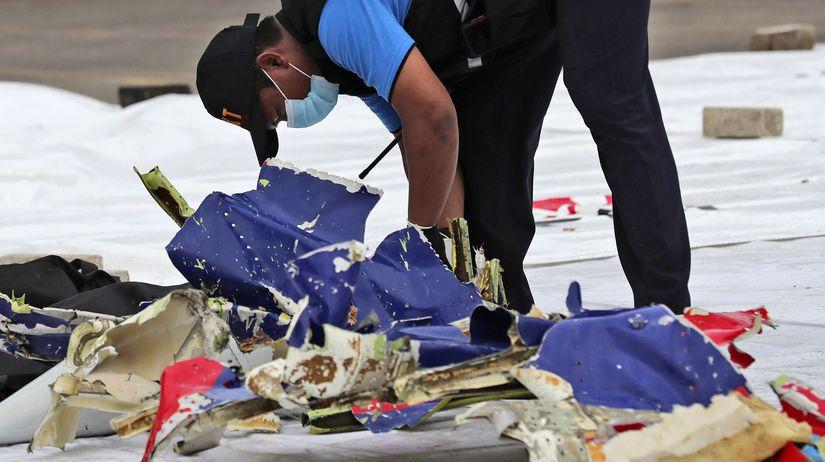 Indonézia lietadlo havária trosky