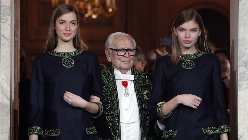 Pierre Cardin, modelky
