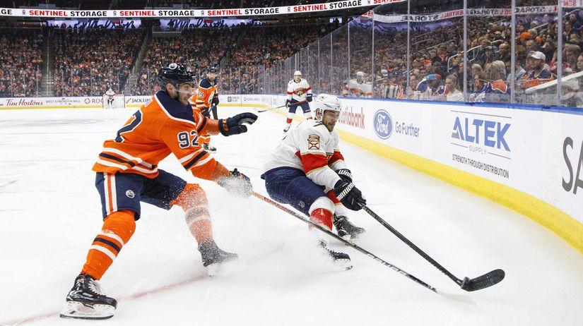 Kanada Hokej NHL SR Edmonton Panthers Jurčo