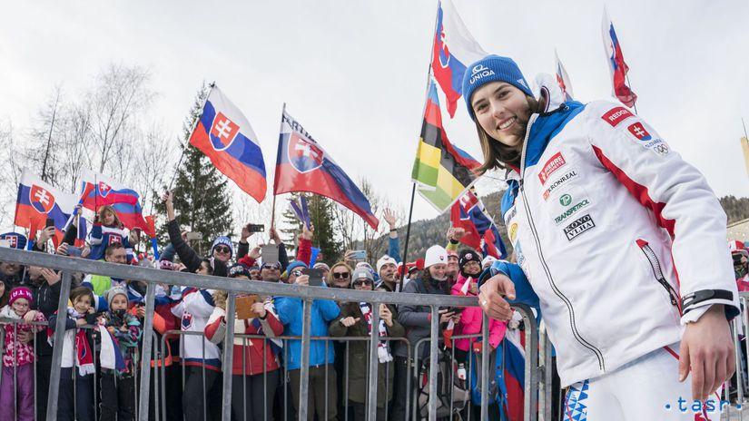 Slovinsko SR Lyžovanie SP slalom ženy Vlhová