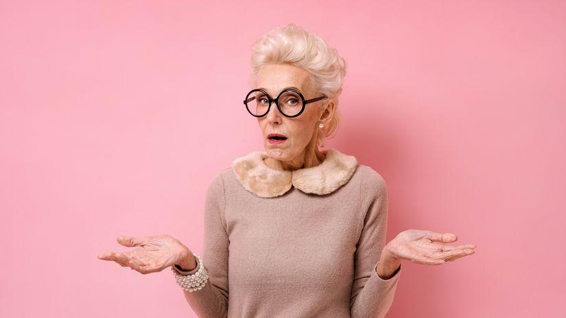 žena, penzistka, hlupaňa, nechápe