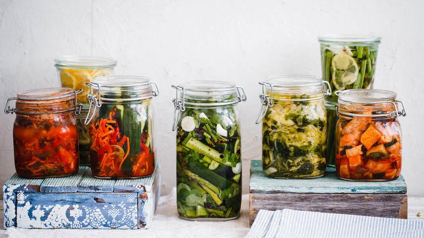 kvasenie, fermentácia, zelenina