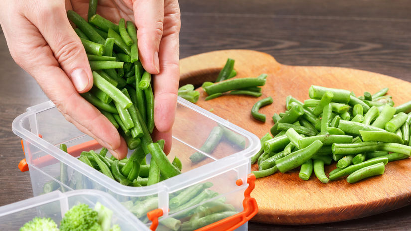 zelenina, dóza, skladovanie potravín