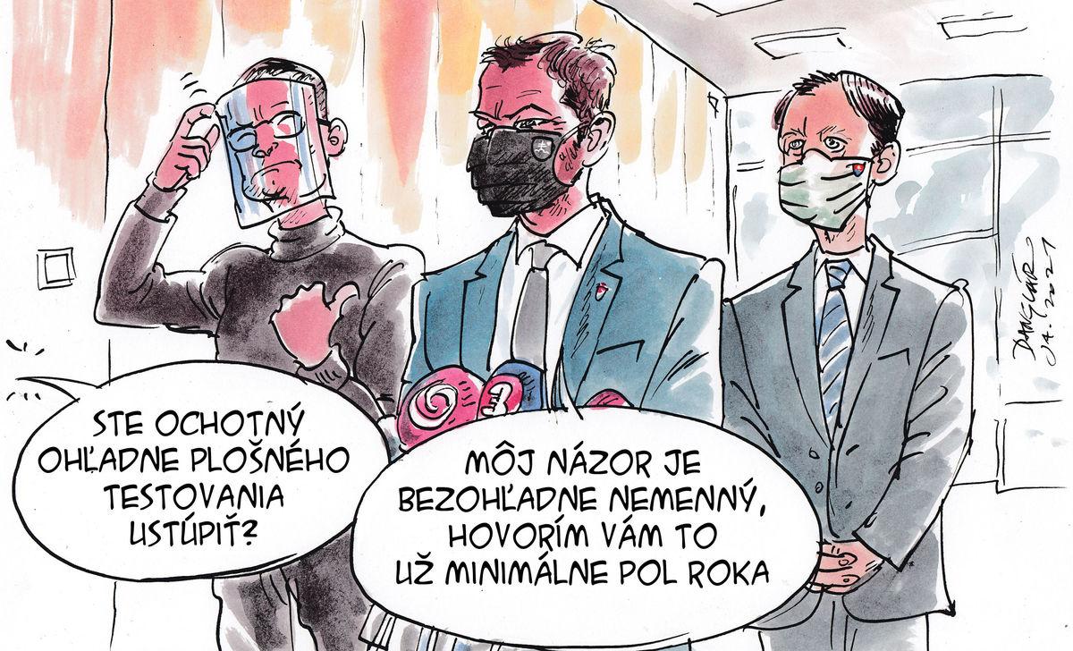 Karikatúra 16.01.2021