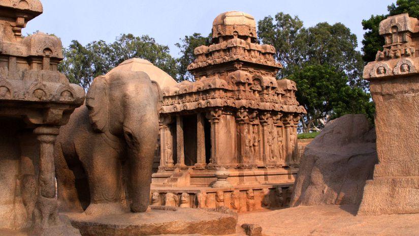 India, Mámallapuram