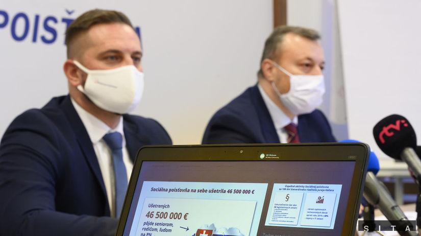 SR SP Sociálna poisťovňa Káčer TK BAX