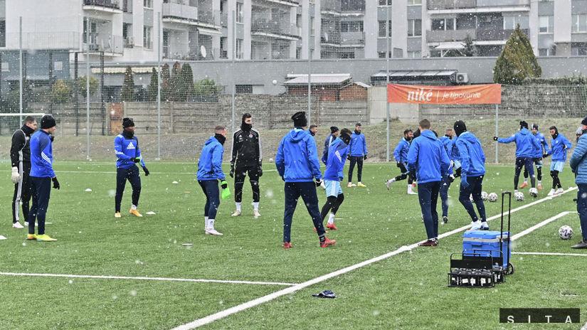 Slovan, tréning