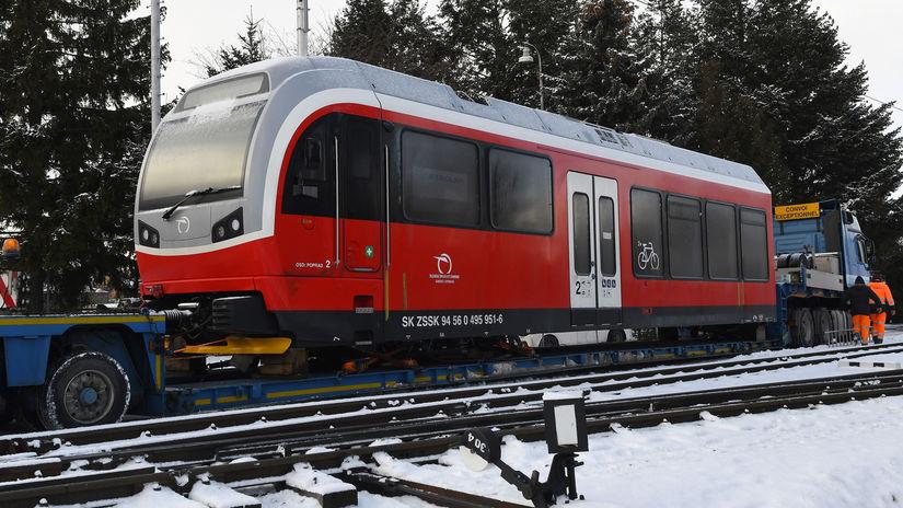 SR Poprad ZSSK železnica vlaky zubačka