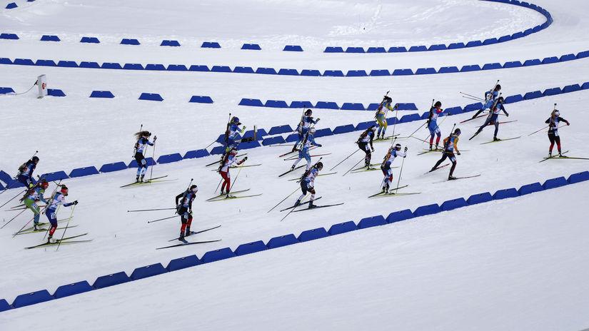 Biatlon, ilustračná
