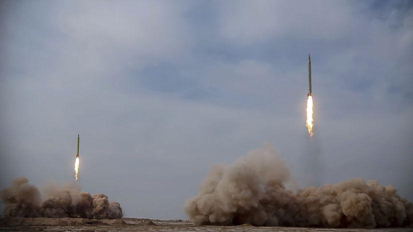 irán rakety