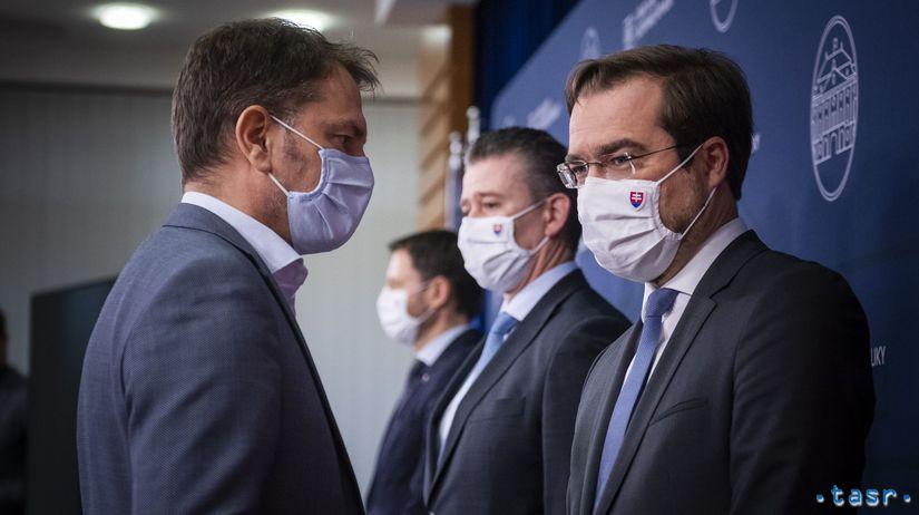 SR koronavírus rokovanie vláda 65. rokovanie...