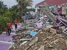 indonézia sulawesi zemetrasenie ruiny