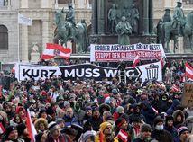 koronavírus, protest, Rakúsko