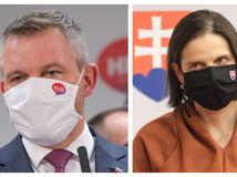 Pellegrini pripúšťa referendovú kampaň pri testovaní, Kolíková namieta