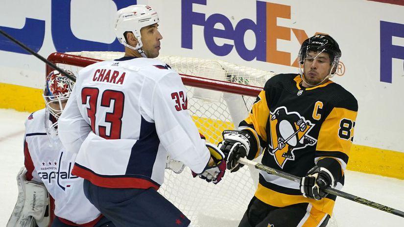 Zdeno Chára, Sidney Crosby