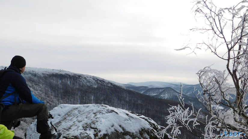 Cigeľ Jančekova skala, príroda, zima,...