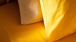 Plachta a obliečky na vankúše Zara Home, info o cene v predaji.
