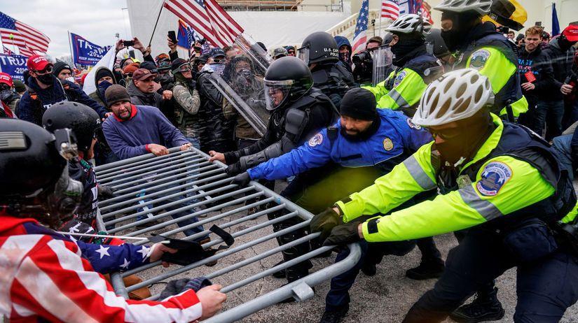 útok na kongres USA