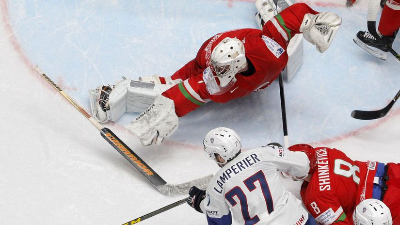 Bielorusko, hokej, ilustračná