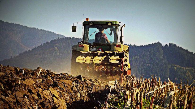 traktor, poľnohospodár, Sklabiňa, družstevník