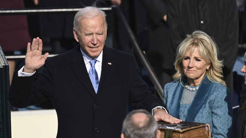 Biden, inaugurácia