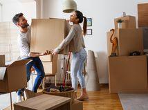 nájom, prenájom, nové bývanie, sťahovanie, manželia