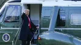 Rozlúčka Donalda Trumpa s Bielym domom