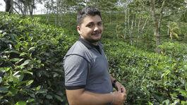 Srí Lanka, Roman Haluška, čaj, čajové polia