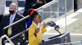 Biden InaugurationAmerická poetka Amanda Gorman.