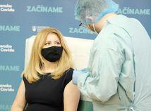 čaputová očkovanie