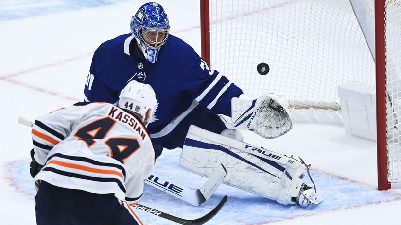 Kanada hokej NHL Oilers Maple Leafs